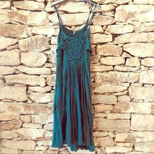 Free People Emerald size L cotton/ rayon dress